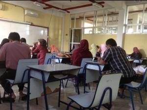 Syariahradio-Pengambilan rapot sekolah SMP di Bekasi